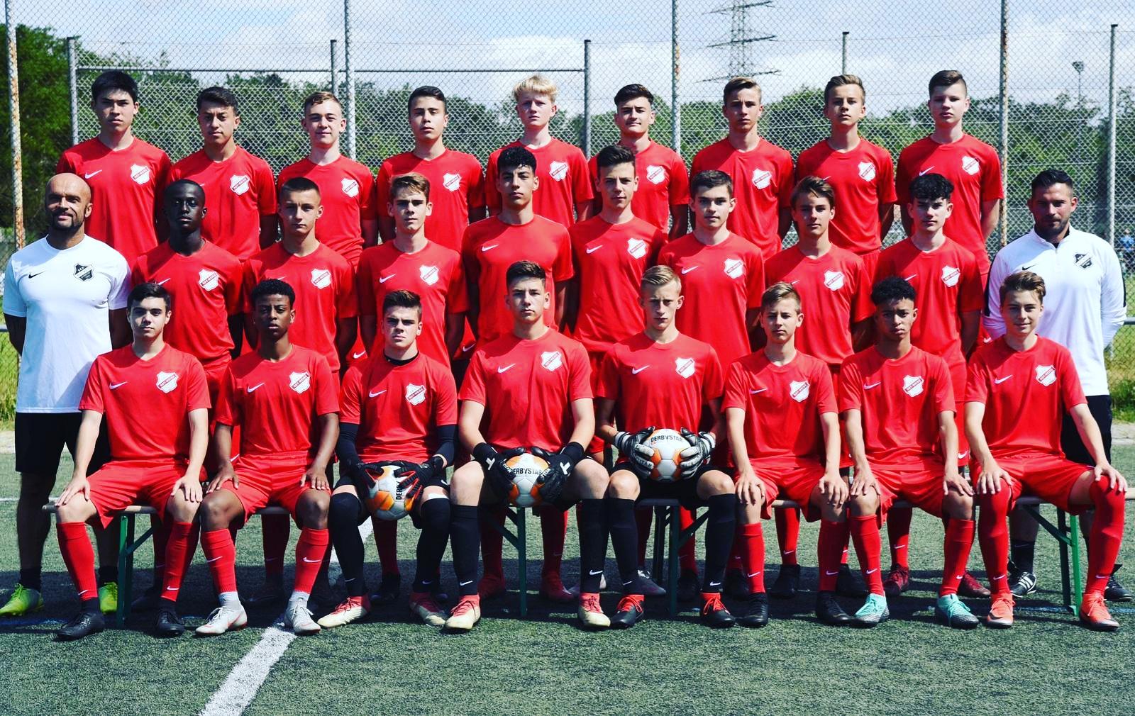 U17 Mannschaftsfoto 2019/2020